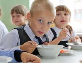 Чиновники о горячем питании в школах